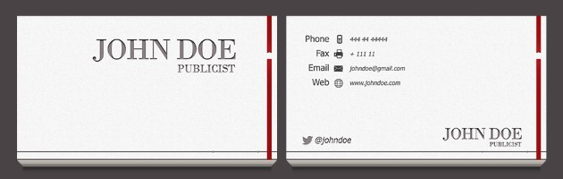 Business Card Templates - Business card indesign template