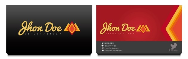 Business card templates illustration business card template reheart Image collections