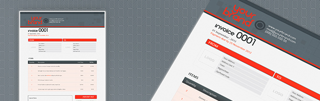 modern invoice design