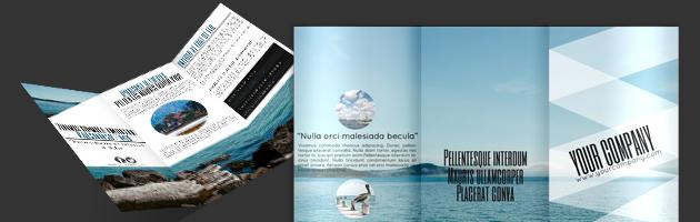 Tri Fold Brochure Template Vector Free Download Tri Fold Brochure