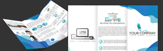 Tri fold templates education brochure template view details download pronofoot35fo Image collections