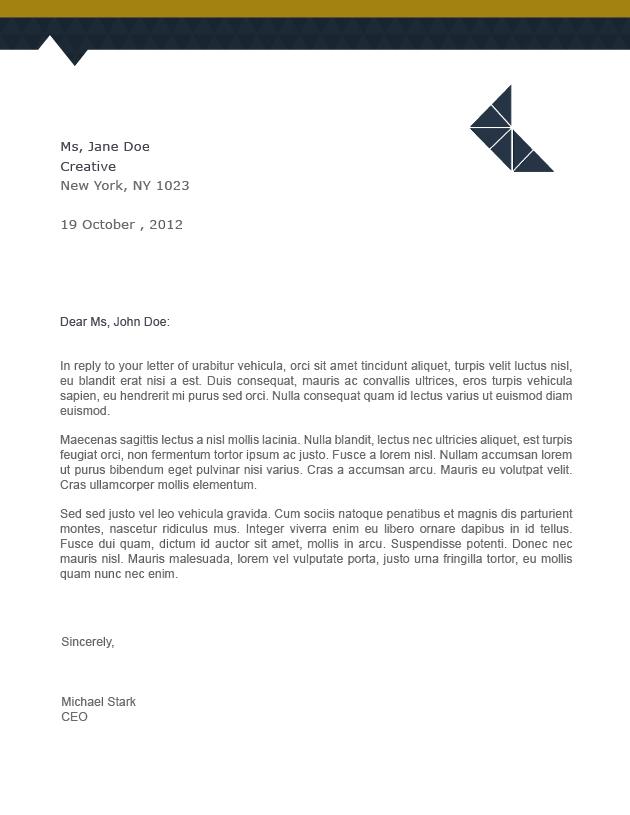normal letter