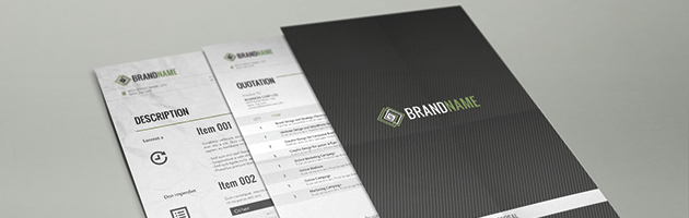 corporate proposal template