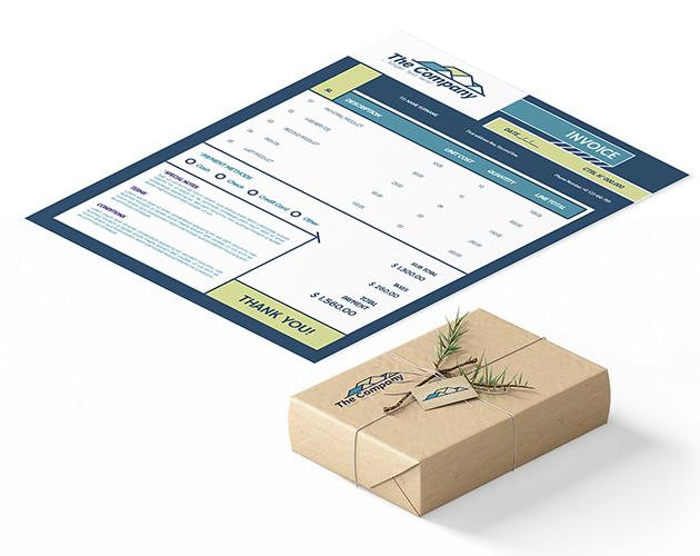 modular invoice template