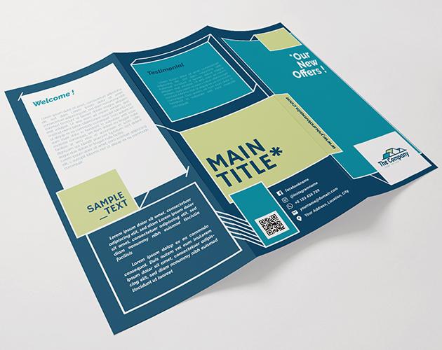 tri fold templates