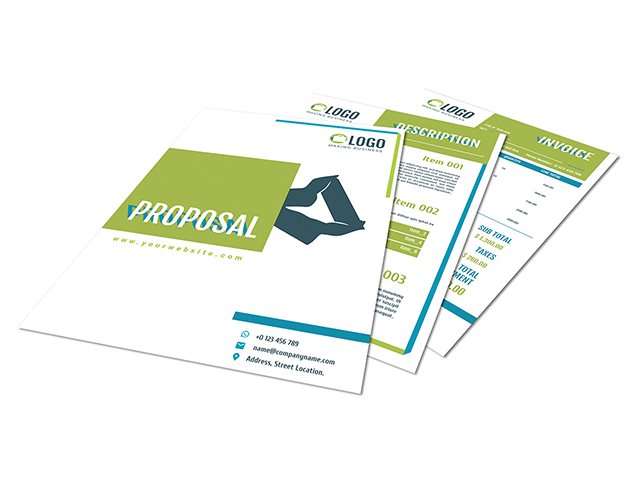 Green Business Proposal Template  Proposal Templates