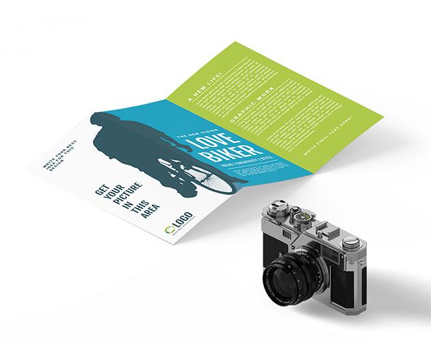 Trifold Templates - Mini brochure template