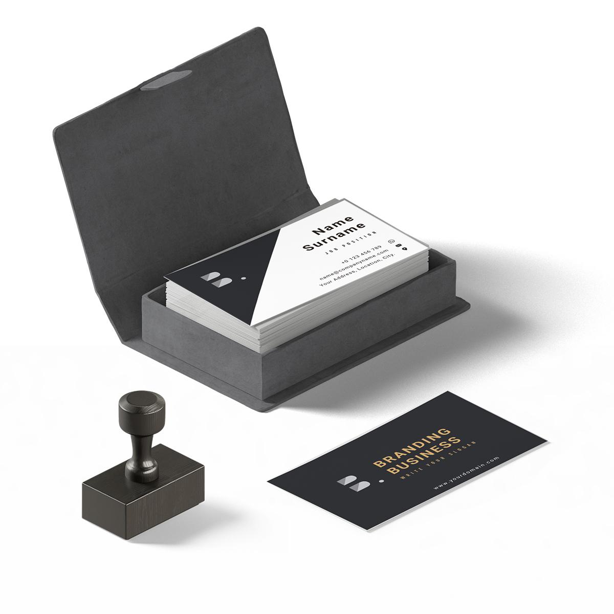 Classy business card template colourmoves